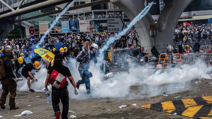 Гонконг протесты