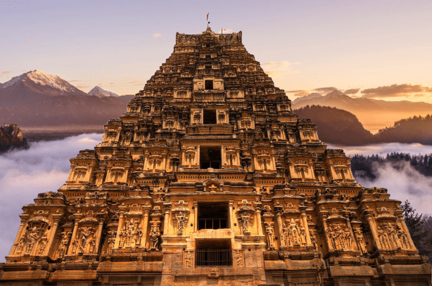 Храм Вирупакши в Индии