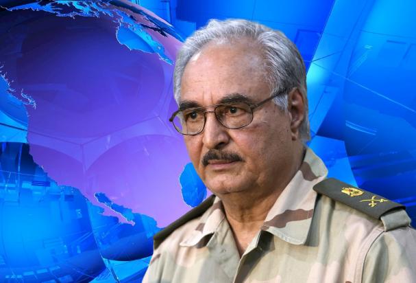 ливийский лидер Халифа Хафтар