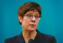 Министр обороны Аннегрет Крамп-Карренбауэр