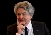 Комиссар Еврокомиссии по внутреннему рынку Тьерри Бретон