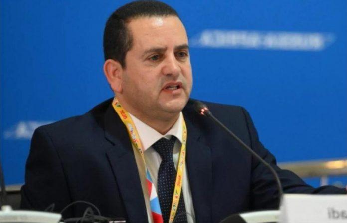 Глава Министерства иностранных дел временного правительства Ливии Абдулхади аль-Хувейдж