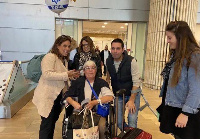 Rachel Biton returns to Israel (photo credit: Courtesy)