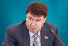 Сергей Цеков Член комитета Совета Федерации по международным делам