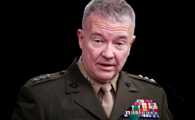 Командующий Центральным командованием Вооруженных Сил Соединенных Штатов генерал Кеннет Маккенз