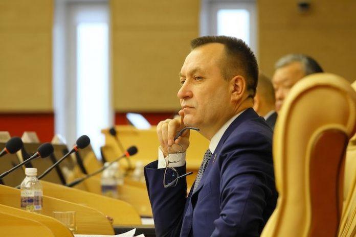 Депутат Заксобрания Иркутской области Николай Труфанов