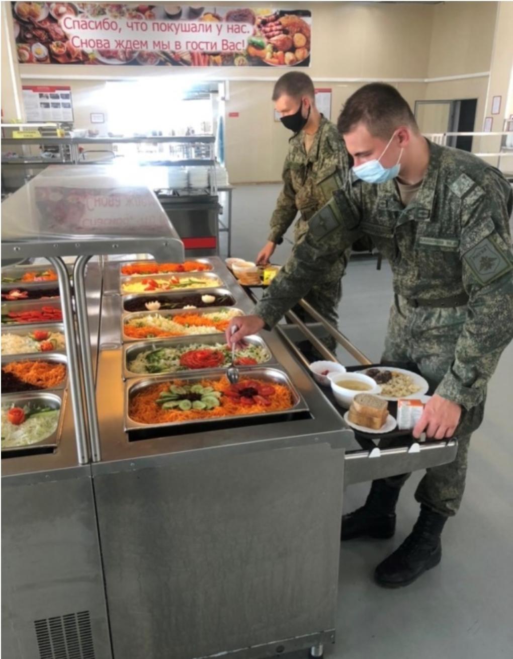 В армии попробовали блюда одной из древнейших кухонь мира